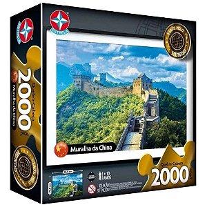 Quebra-Cabeças Grande Muralha da China 2000 Peças - Estrela