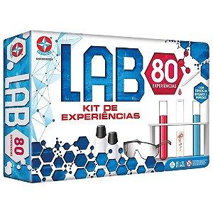 Brinquedo Kit de Experiências Lab 80 - Estrela