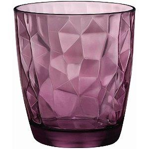 Copo Diamond Rock Purple Bormioli Rocco - DayHome