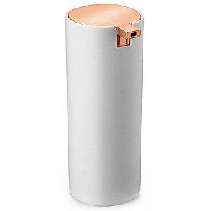Dispenser para Sabão Líquido em Plástico 17cm Branco – Arthi