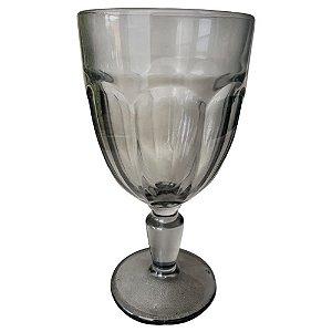 Jogo de Taças Cream Glass com 6 Peças em Vidro 310ml Fumê
