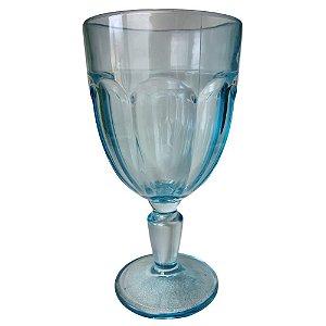 Jogo de Taças Cream Glass c/6 Peças em Vidro 310ml Azul Bebê