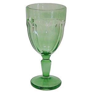 Jogo de Taças Cream Glass com 6 Peças em Vidro 310ml Verde