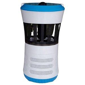 Luminária Azul LED Armadilha para Mosquitos Ventoinha - Fix