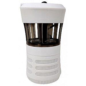 Luminária Branca LED Armadilha p/ Mosquitos Ventoinha - Fix