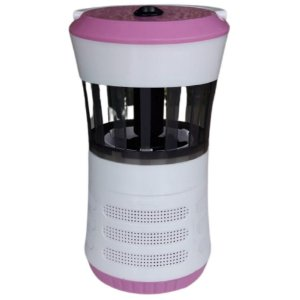 Luminária Rosa LED Armadilha para Mosquitos Ventoinha - Fix