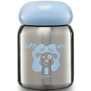 Pote Térmico Refeição Keep It Cool Inox 220ml Azul Multikids