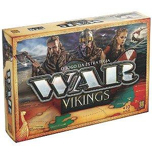 Jogo de Tabuleiro War Vikings Ação e Estratégia – Grow