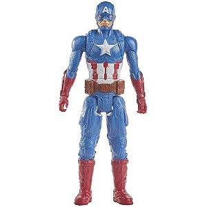 Boneco Capitão América Vingadores Marvel 30cm - Hasbro