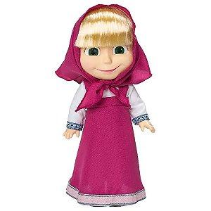 Boneca Masha com Som e Risada 35cm Rosa - Estrela