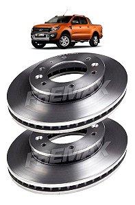 Disco Freio Dianteiro Ford Ranger 2.2 4x4 2013 A 2019 - Par