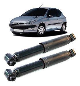 Amortecedor Traseiro Peugeot 206 1.0 1.6 1999 A 2010 - Par