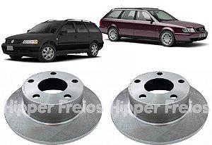 Disco Freio Traseiro Audi A6 Avant Passat Variant 1990-2004