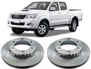 Disco Freio Dianteiro Toyota Hilux 2.5 3.0 2002-2015 Aro 15