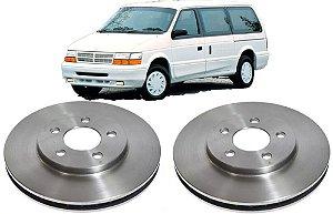 Disco Freio Dianteiro Caravan Grand 1993 a 1996 - Par