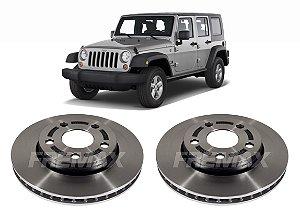 Disco Freio Dianteiro Jeep Wrangler (302,00mm/ 5 Furos)(par)