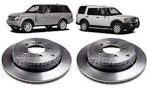Disco De Freio Traseiro Discovery 3 - Range Rover (par)