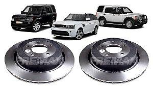 Disco Freio Traseiro Discovery 3 4 Range Rover Sport 05-16
