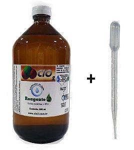 X - ÁCIDO CLORÍDRICO A 4% - 500 ML