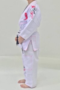 Kimono Prime BJJ Girls Kids Oferta Black Friday