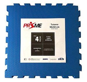 Tatame EVA Infantil 4 Peças 50x50 cm - Azul