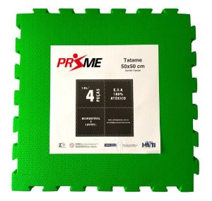 Tatame EVA Infantil 4 Peças 50x50 cm - Verde
