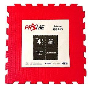Tatame EVA Infantil 4 Peças 50x50 cm - Vermelho