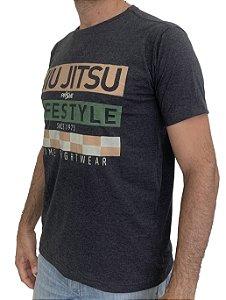 Camiseta T-Shirt JiuJitsu Life Style Chumbo