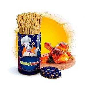Osso Deliciosso sabor Frango - Palito Fino para Cães - 410g