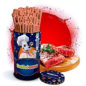 Osso Deliciosso sabor Carne- Palito Fino para Cães - 410g