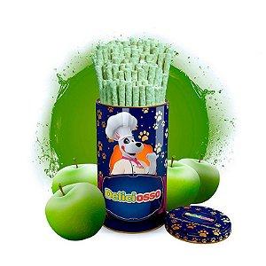 Osso Deliciosso sabor Maçã Verde - Palito Fino para Cães - 410g