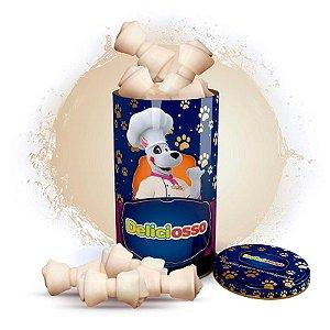 Osso Deliciosso Natural - Com nó para Cães - 285g