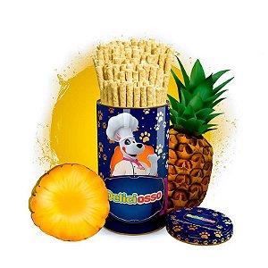 Osso Deliciosso sabor Abacaxi - Palito Fino para Cães - 410g