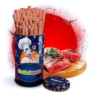 Osso Deliciosso sabor Carne - Palito Médio para Cães - 410g