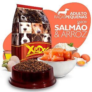 Alimento High Premium Completo - Xisdog - Adulto Raças Pequenas - Salmão - Cada unidade = 1kg