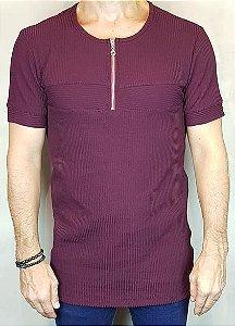 Camisa T-Shirt Canelada Teselli by linha Spoiler  - Ziper