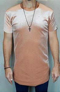Camiseta Longline Teselli by Totanka Linha Premium Rosê