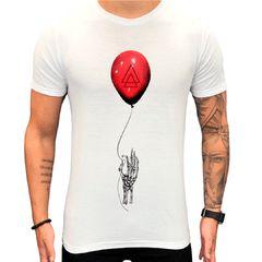 Camiseta Teselli by Paradise Balão Branca