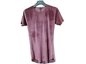 Camiseta Longline Teselli by Totanka Linha Premium Canelada