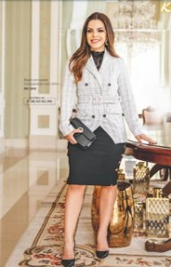 casaco em tecido linho (xadrez)