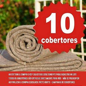 10 COBERTORES - LEPIN ENXOVAIS