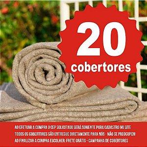 20 COBERTORES - LEPIN ENXOVAIS