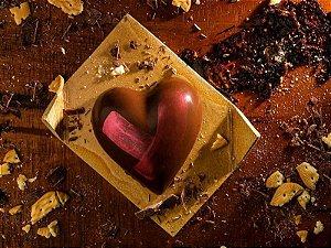 CHOCOLATE VEGANO RECHEADO COM PALHA ITALIANA