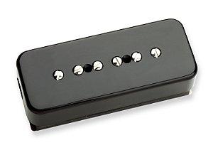 Captador Guitarra STK-P1b P90 Soapbar Stack, Noiseless Alnico 5 Ponte, 4 Cond, Preto
