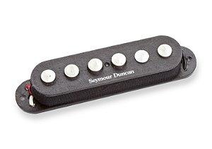 Captador Guitarra SSL-7 Quarter-Pound Staggered Strat RwRp Preto