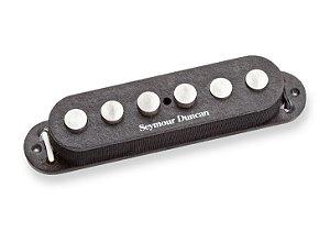 Captador Guitarra SSL-7 Quarter-Pound Staggered Strat Preto