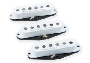 Captadores (3) Guitarra SSL-1 California 50's Branco, Individuais