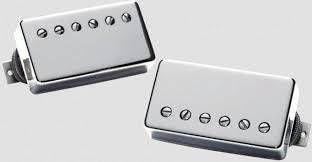 Captadores (Par) Guitarra APH-2S Alnico II Pro Slash Set, Niquelado