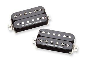 Captadores (Par) Guitarra SH-6 Set Mayhem Set Preto