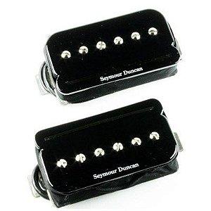 Captadores (Par) Guitarra SHPR-1s P-Rails Set, Preto